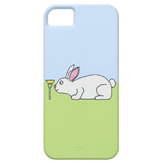 White Rabbit. On a Lawn. iPhone 5 Case