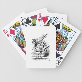 White Rabbit Playing Cards
