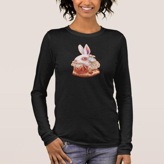 White Rabbit Pop Surrealism Illustration Shirt