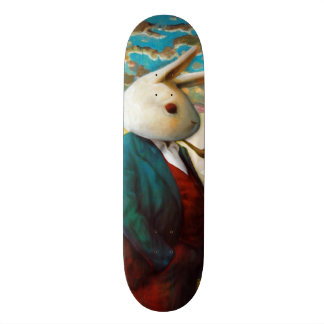 White Rabbit Street King Custom Pro Slider Board Skate Boards