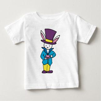 White Rabbit Tea Party Baby T-Shirt