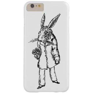 White Rabbit with Flowers Case
