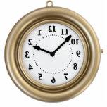 White rabbit's funny clock