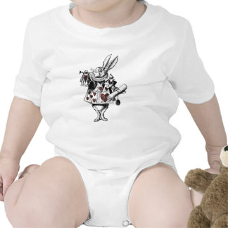 White Rabbits of Hearts - Alice in Wonderland Shirt