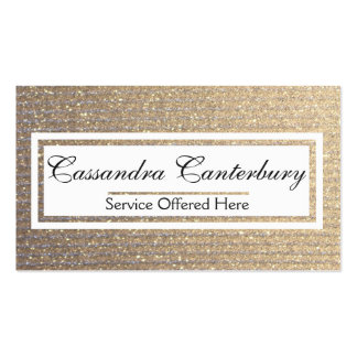 White Rectangular Label Front Businss Card Pack Of Standard Business Cards