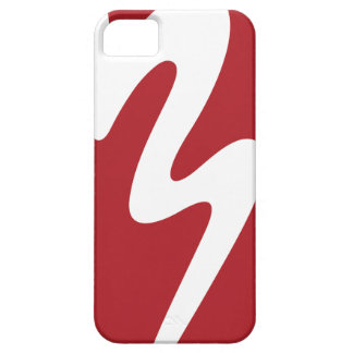 White/Red Logo Phone Case Batavia Marching Band