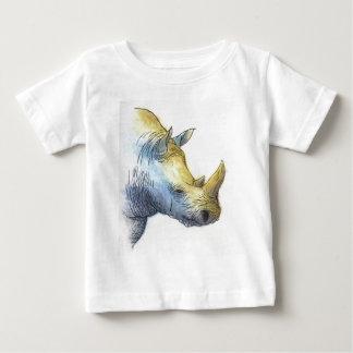 White Rhino Baby T-Shirt