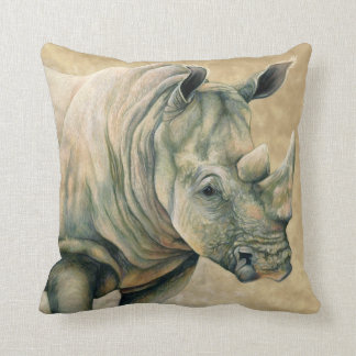 White Rhino Cushion