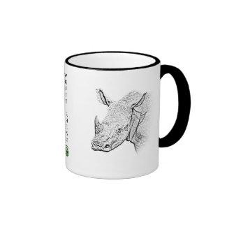White Rhino Mug - Africa Series