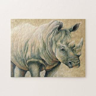 White Rhino Puzzle