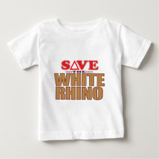 White Rhinoceros Save Baby T-Shirt