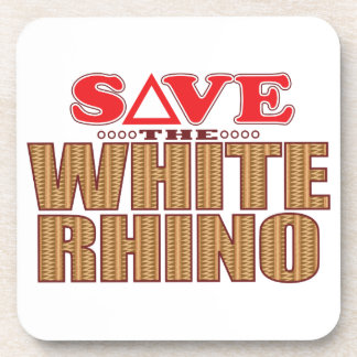 White Rhinoceros Save Coaster