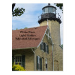 White River Light Station Postcard