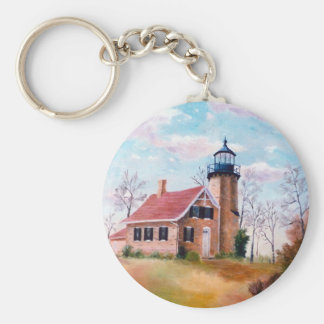 White River Lighthouse Keychain