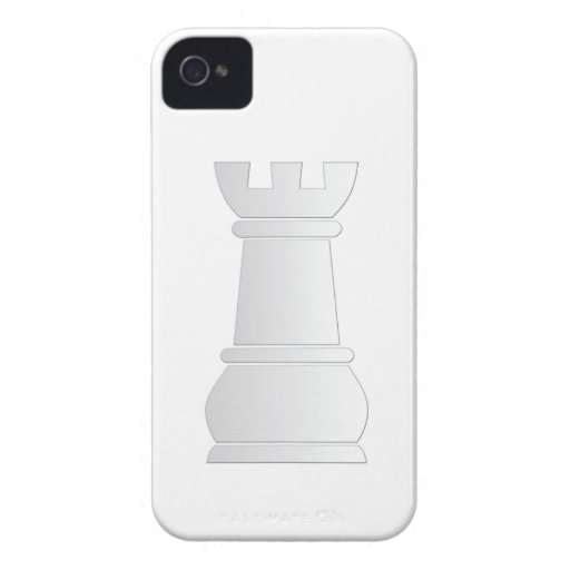 White rock chess piece iPhone 4 case