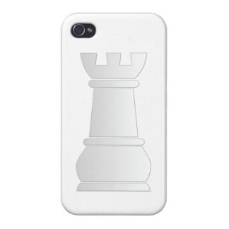 White rock chess piece iPhone 4 covers