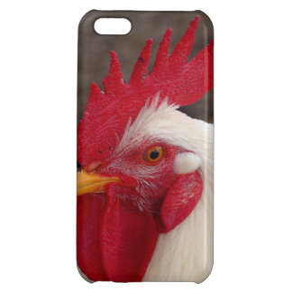 White Rooster iPhone 5C Cases