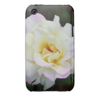 White Rose cover Case-Mate iPhone 3 Case