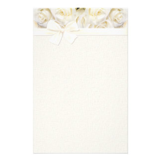 White Rose Elegance 2 Stationery
