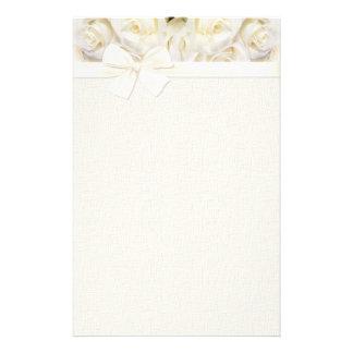 White Rose Elegance 2 Stationery
