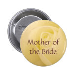 White rose for Mother of the Bride Badges