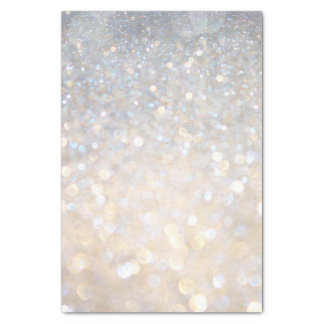 White Rose Gold Glitter Gray Modern Trendy Stylish Tissue Paper