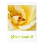 White Rose Invitation