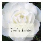 White Rose Invitations