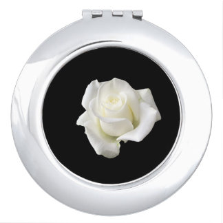 white rose makeup mirrors