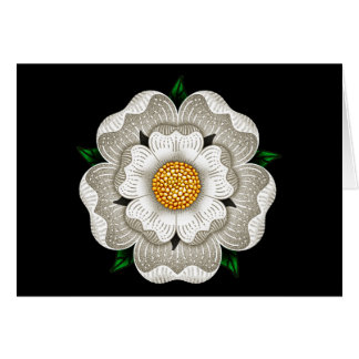 White Rose of York Card