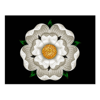 White Rose of York Postcard