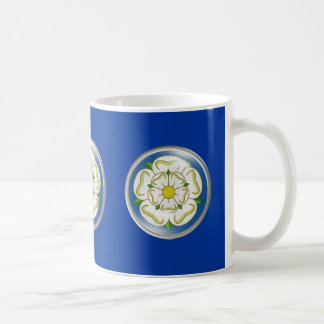 White Rose of Yorkshire Flag Coffee Mug