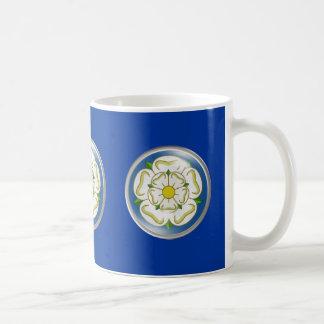 White Rose of Yorkshire Flag Mugs
