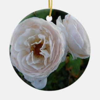 White Rose Ornament