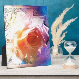 White Rose Plaque