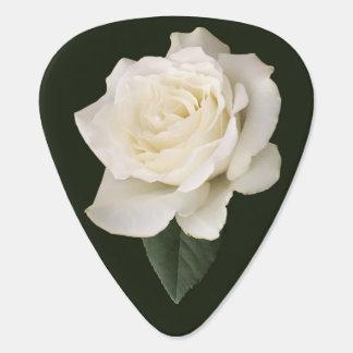 White Rose Plectrum