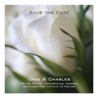 White Rose • Save the Date Announcement