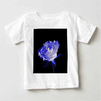 White Rose with Purplish Tints by Sharles Baby T-Shirt