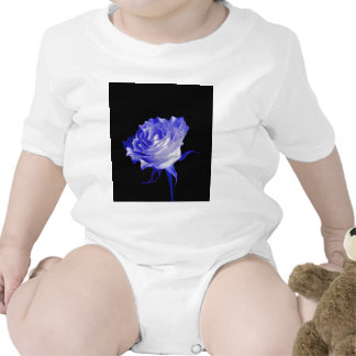 White Rose with Purplish Tints by Sharles Romper