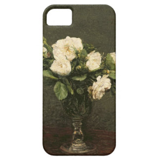 White Roses, 1875 (oil on canvas) Barely There iPhone 5 Case