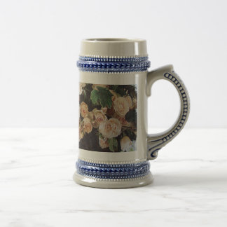 White Roses Beer Steins