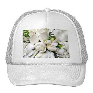 White Roses,for any occasion_ Trucker Hat