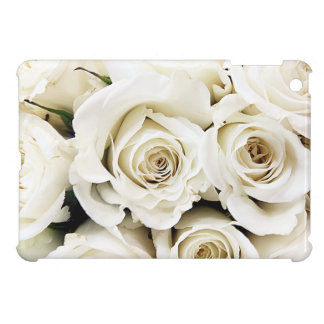 White Roses iPad Mini Case