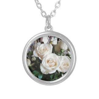 White Roses Pendant