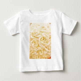 White roses photo t shirt