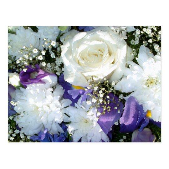 White Roses | Postcard