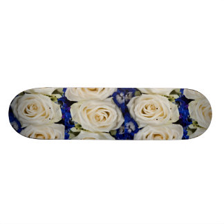 White roses skateboard