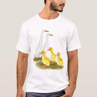 White Runner Duck Family T-Shirt