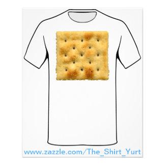 White Saltine Soda Crackers 11.5 Cm X 14 Cm Flyer