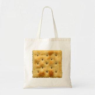 White Saltine Soda Crackers Tote Bag